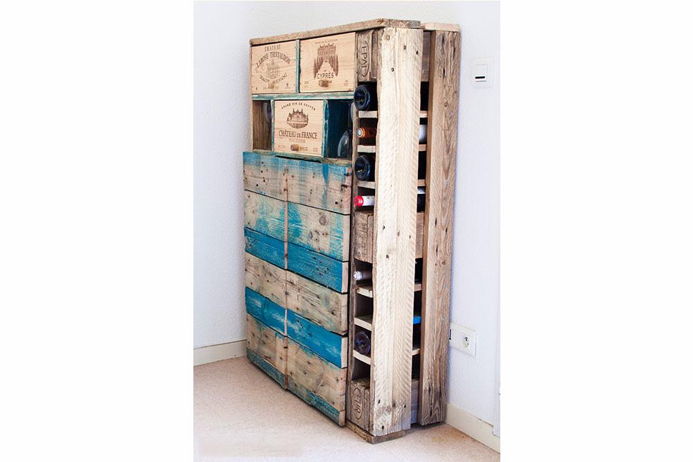 Biblioth ques et meubles de rangement la vie du bois bordeaux - Bibliotheque caisse bois ...