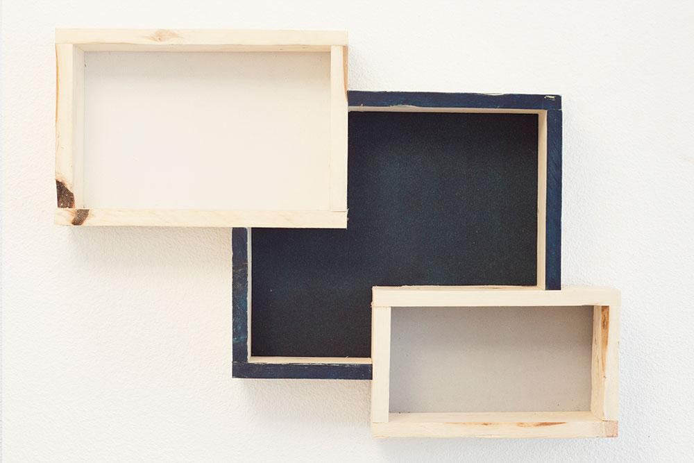 etagere murale bois brut maison design. Black Bedroom Furniture Sets. Home Design Ideas